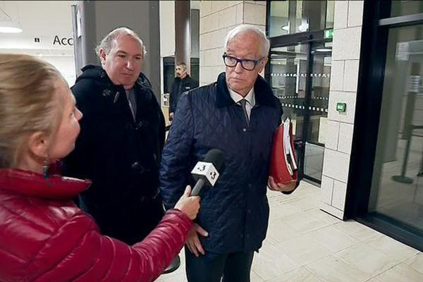 L'homme d'affaires canadien Louis Lagassé au tribunal correctionnel de Quimper le 29 octobre 2019