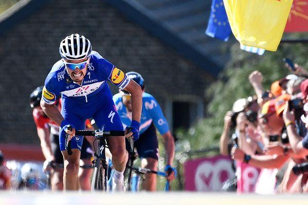 La Flèche Wallonne ou  l'heure de la revanche pour Julian Alaphilippe… Mercredi 24 avril, le coureur originaire de Montluçon, dans l'Allier, va retrouver au mur de Huy, l'arrivée de la saison qui lui convient sans doute le mieux.