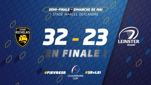 Une victoire amplement méritée pour le Stade Rochelais qui défiera Toulouse en finale.