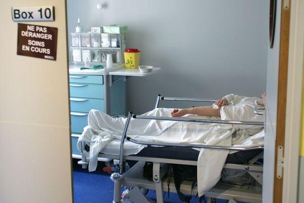Les urgences du CHU Gabriel Montpied, à Clermont-Ferrand, ont été confrontées à une affluence massive de patients vendredi 29 septembre. Photo d'illustration.