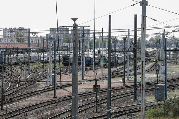 Illustration gare SNCF de Bordeaux.