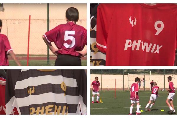 La start up niçoise Phénix Sports équipe déjà quelques clubs, dont le FC Cimiez à Nice.