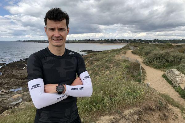 Jérémy Desdouets va tenter d'établir le record de vitesse sur le GR34