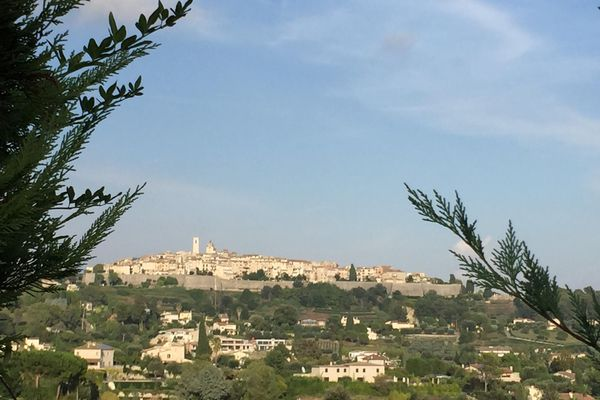 Saint Paul de Vence, village mythique des Alpes-Maritimes.