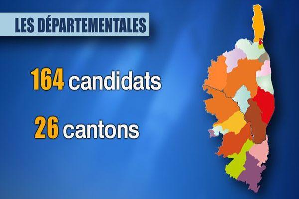 Départementales : ce que le redécoupage des cantons change pour la Corse