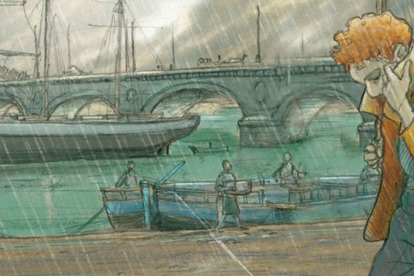 Narcisse sous la pluie