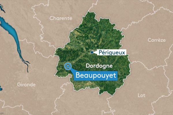 Un dramatique accident survenu sur l'A89 à hauteur de Beaupouyet en Dordogne.