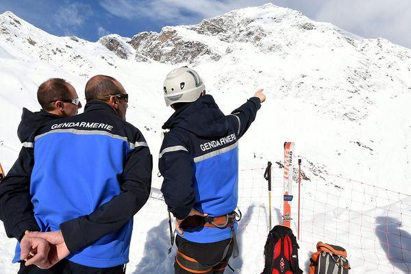 (Photo d'illustration) Les gendarmes du PGHM interviennent après une avalanche