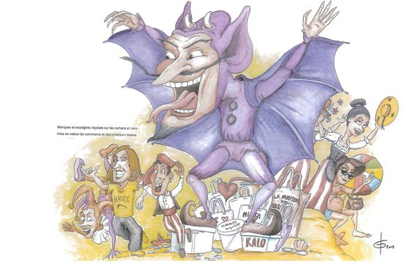 L'oeuvre du carnavalier Johan Garcia