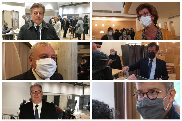 Les six sénateurs élus le 27 septembre 2020 dans le Doubs, en Haute-Saône et dans le Territoire de Belfort