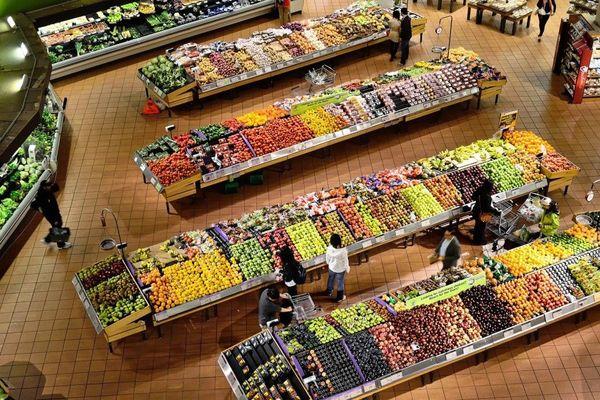 76% des Loirétains font leurs courses alimentaires dans les grandes et moyennes surfaces, d'après une étude réalisée auprès de 3.000 habitants. Photo d'illustration.