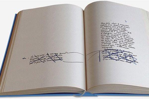 """Le manuscrit de Marcel Pagnol. """"La Gloire de mon père"""", manuscrit, 304 pages, Editions des Saints Pères, 149 euros."""