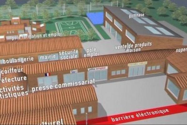 Cette prison devait s'implanter à proximité de la commune jurassienne.