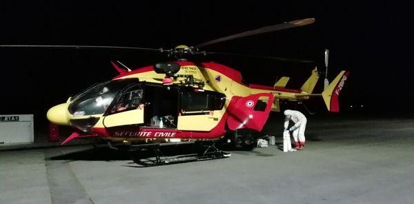 La Sécurité Civile de Savoie ou du Doubs ont par exemple transité par la plateforme la nuit
