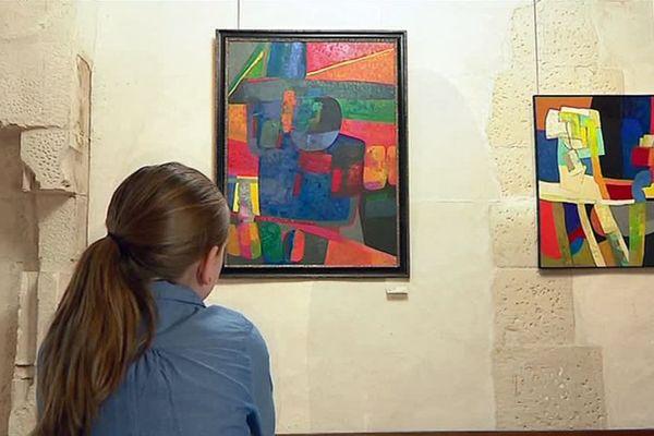 A Bourges, le musée Estève est consacré à ce peintre né à Culan dans le Cher