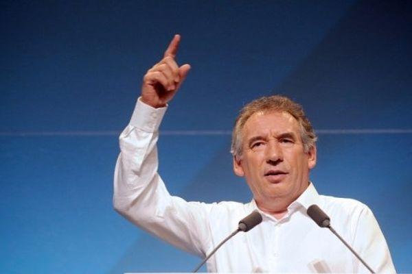 François Bayrou, réélu président du MoDem