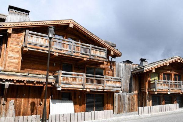 Chalet Apopka, le plus grand jamais construit dans les Alpes, à Courchevel en Savoie