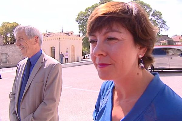 Carole Delga à Nîmes septembre 2016