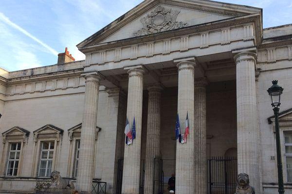 Audience au tribunal correctionnel - Palais de justice d'Orléans