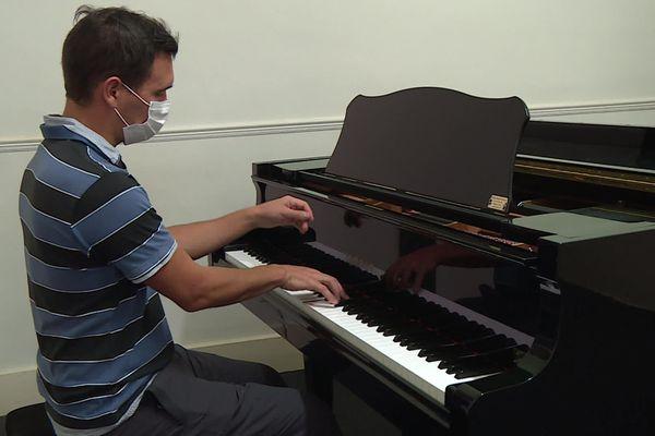 Cour individuel de piano au conservatoire d'Albi