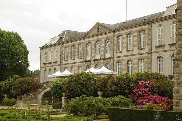 Le Musée d'Arts et d'Archéologie Guéret était anciennement l'Hôtel de la Sénatorerie
