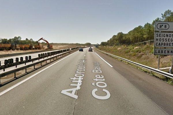 L'A63 sera fermée pour travaux la nuit prochaine entre Saint-Geours-de-Maremne et Capbreton la nuit prochaine.