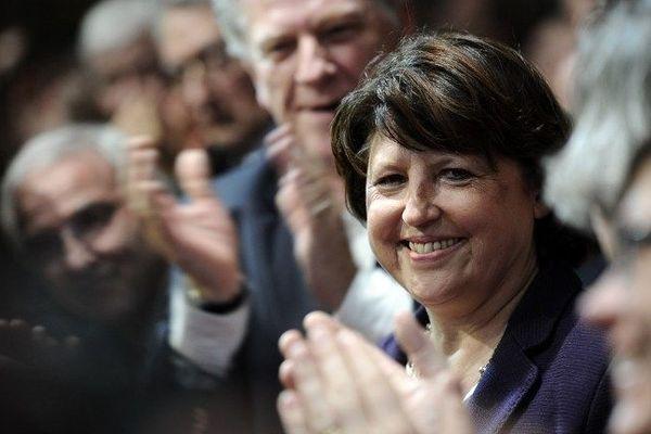Martine Aubry est maire de Lille depuis mars 2001.