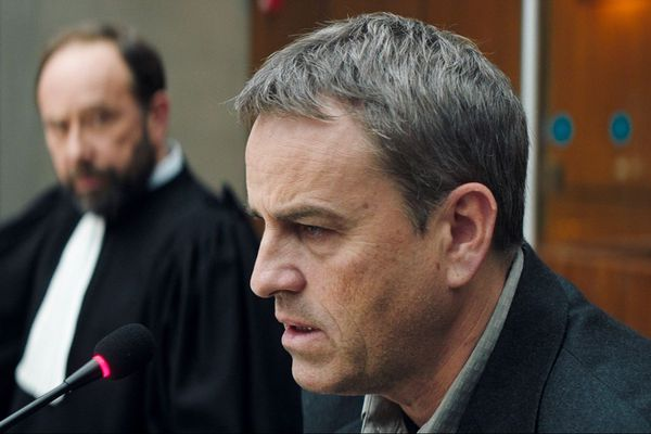L'acteur Laurent Lucas dans le rôle de Jacques Viguier