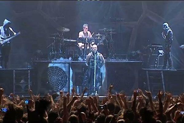 Le concert de Rammstein à Lyon