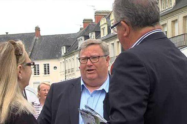 Patrick Thomines, actuel maire de Colleville-sur-Mer, devient conseiller départemental du Calvados.