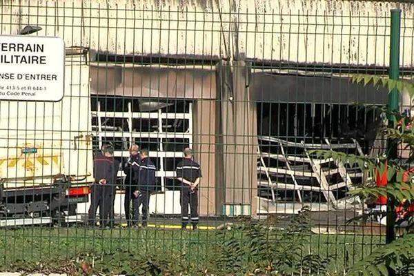 La gendarmerie de l'Isère, victime d'un incendie criminel en septembre 2017, fait partie des bénéficiaires du plan présenté par le ministre de l'Intérieur.