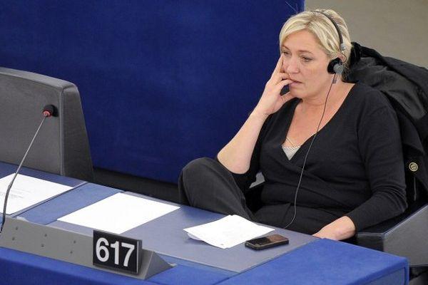 Marine Le Pen au parlement européen le 13 juin 2012