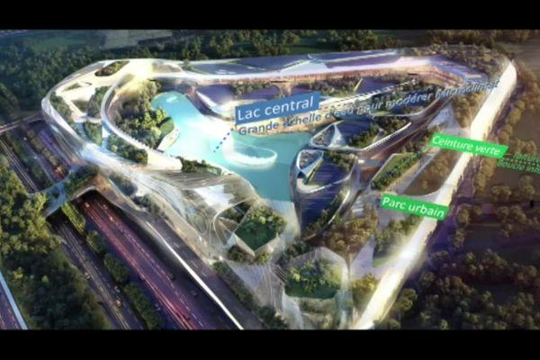 Image virtuelle du projet Open Sky