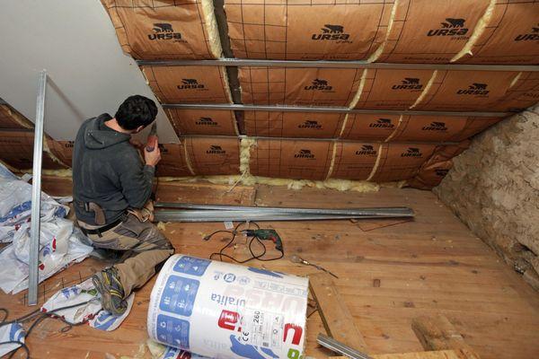 """La région Sud a mis en place le """"chèque énergie"""" pour aider les particuliers à réaliser des travaux d'isolation (photo d'illustration)."""