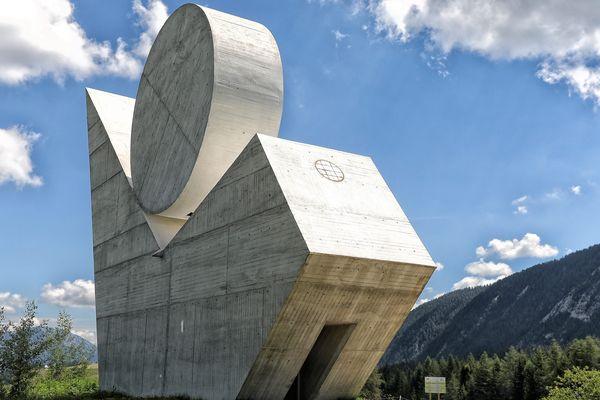 Le monument national de la résistance.
