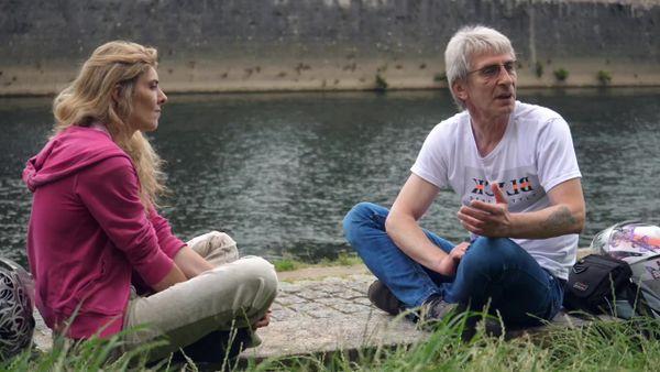Eric et sa compagne Laure