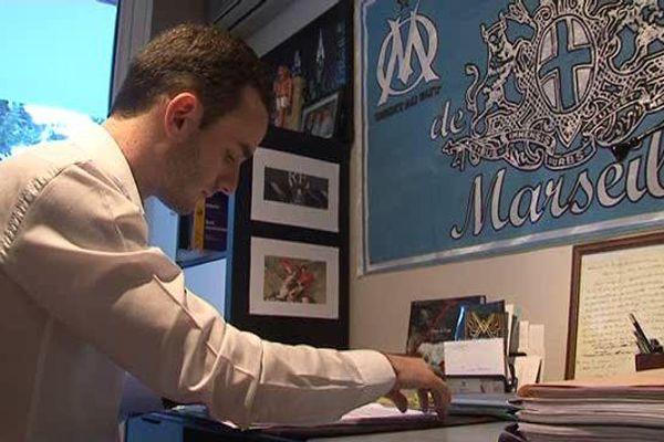 Ludovic Pernay, est le benjamin de l'assemblée régionale PACA