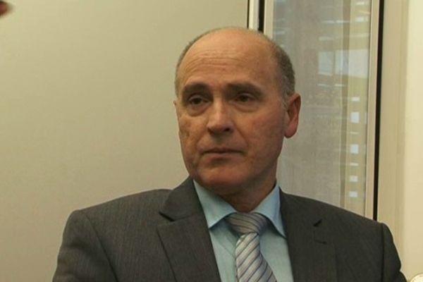 Le procureur Brice Robin le 24 décembre 2012