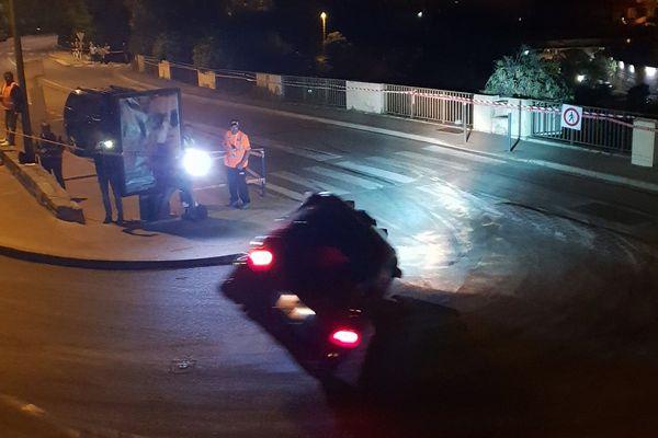48e Ronde de la Giraglia, impressionnant tonneau sans gravité dans la spéciale de nuit à Bastia (Haute-Corse).