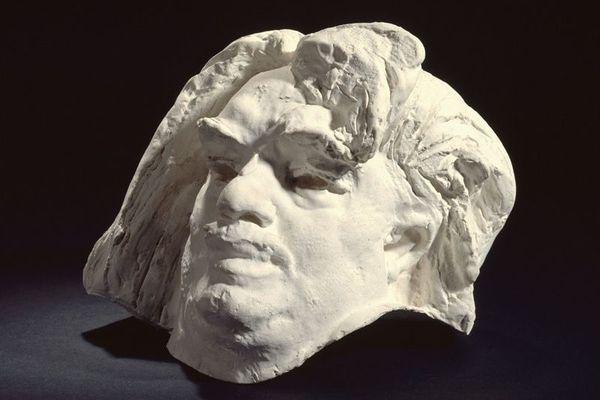 Balzac en plâtre par Rodin