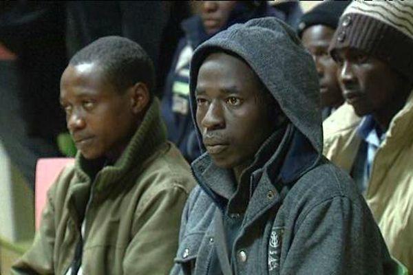 La plupart des migrants sont des hommes, soudanais ou érythréens