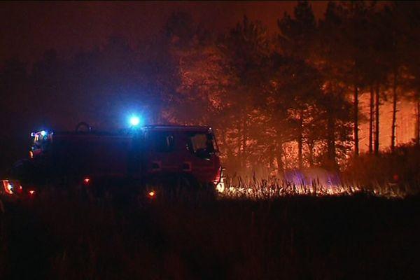 Les pompiers de l'Indre ont reçu les renforts d'autres départements dans la lutte contre l'incendie de la Brenne