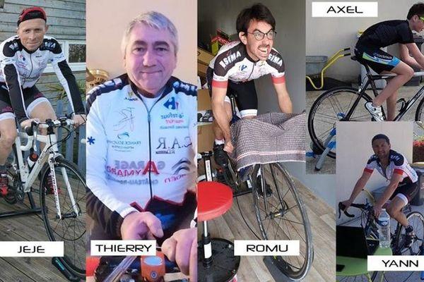 les 24h du confinement, team Renaudin / 23.03.2020 / team Renaudin DR