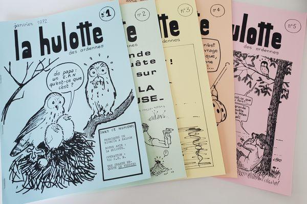 Les cinq premiers numéros de la Hulotte ont été ré-édités dans un coffret spécial