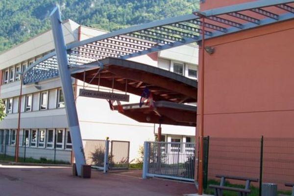 Le lycée Ambroise Croizat, à Moûtiers