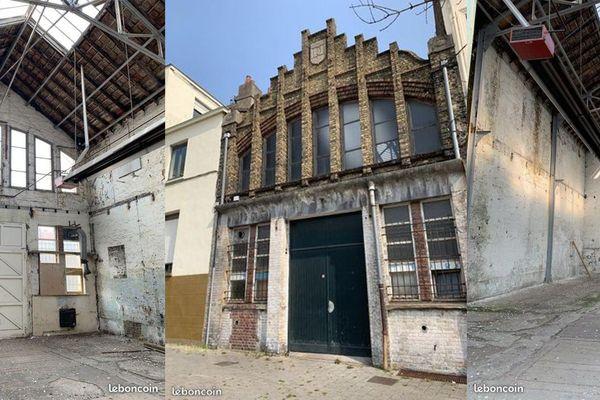 Le hangar désaffecté est en réalité l'ancienne criée municipale.