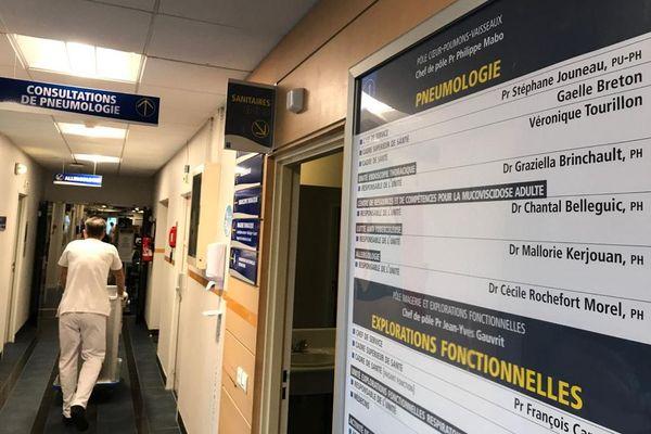 Un cluster covid a été identifié dans le service de pneumologie du CHU de Rennes, l'un des plus importants dans l'hôpital, depuis le début de l'épidémie