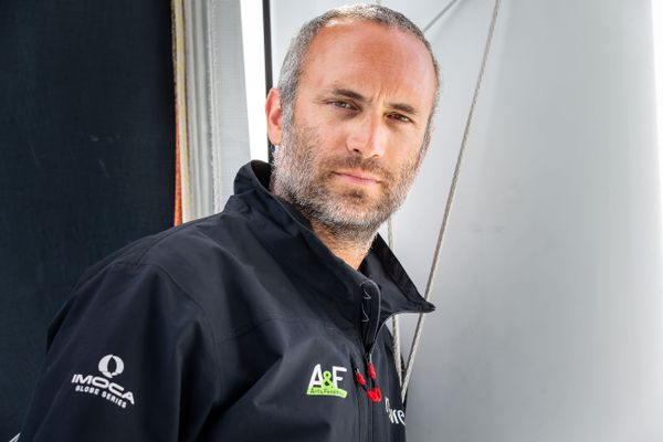 Le skipper Fabrice Amedeo