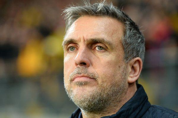 Richard Déziré, entraîneur du Mans FC limogé, le 23 février 2020
