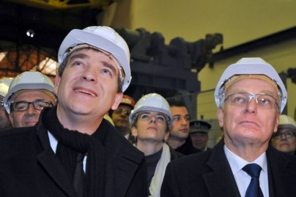 S'ils étaient ensemble le 21 janvier à Saint-Nazaire, c'est séparés qu'Arnaud Montebourg et Jean-Marc Ayrault viendront en Isère cette semaine